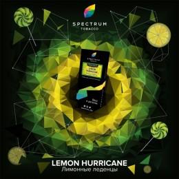 Табак Spectrum HARD Lemon Hurricane (Спектрум Хард Лимонные Леденцы) 100г