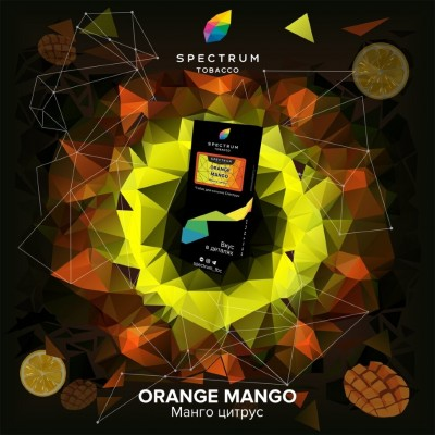 Табак Spectrum HARD Orange Mango (Спектрум Хард Манго Цитрус) 100г