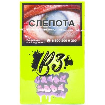 Табак для кальяна B3 Grape Soda (Грэйп Сода),50 гр