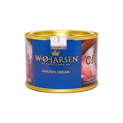 Табак трубочный W.O. Larsen Master's Blend Golden Dream (100гр)