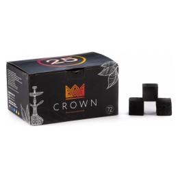 Уголь Crown 72шт (25*25мм)