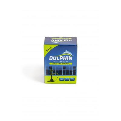 Уголь Dolphin 25*25 36куб.