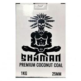 Уголь Shaman 1кг 25мм
