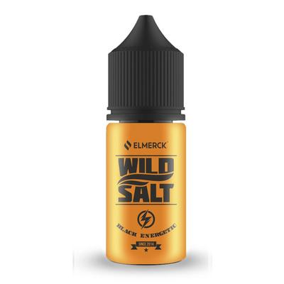 Жидкость Wild Salt Black Energetic 30мл 45мг